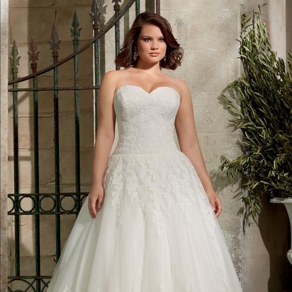 Mori Lee Dresses | Plus Size Wedding Dress | Poshmark